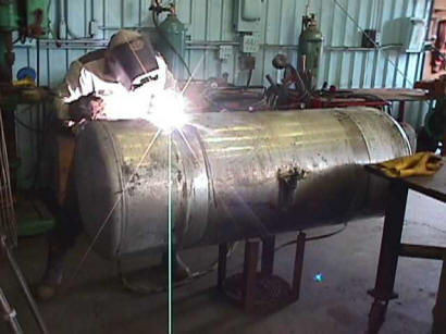 We Repair Diesel Fuel Tanks